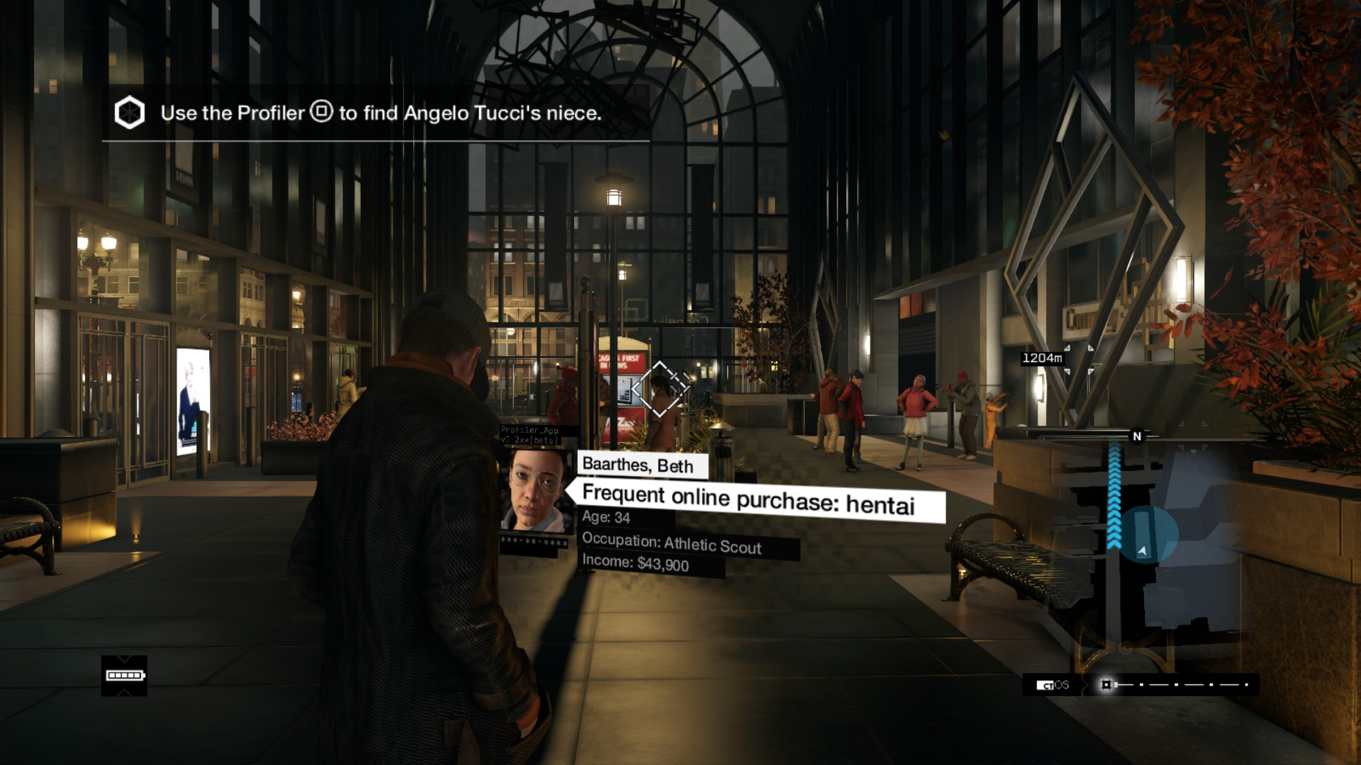 Watch Dogs Design Crime