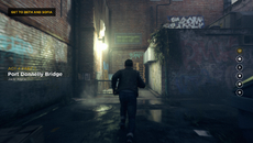 Natural lighting and motion blur manage to keep aliasing at bay in motion particularly when a scene is devoid of thin objects.