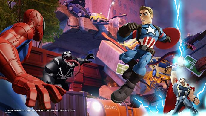 Disney Infinity Marvel Battlegrounds 01