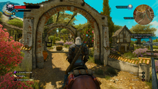 The Witcher 3: Blood and Wine in maximalen Einstellungen auf dem PC.