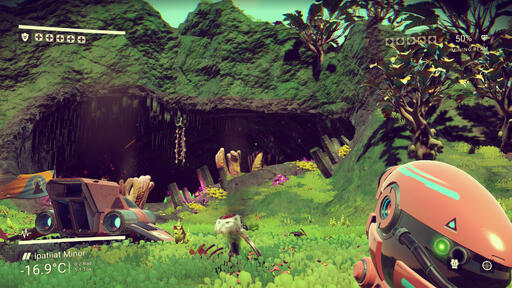 Tech Analysis: No Man's Sky • Eurogamer net