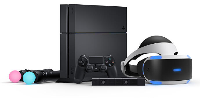 99846c5a7be Everything you need to get going with PlayStation VR. You can do without the  two PlayStation Moves