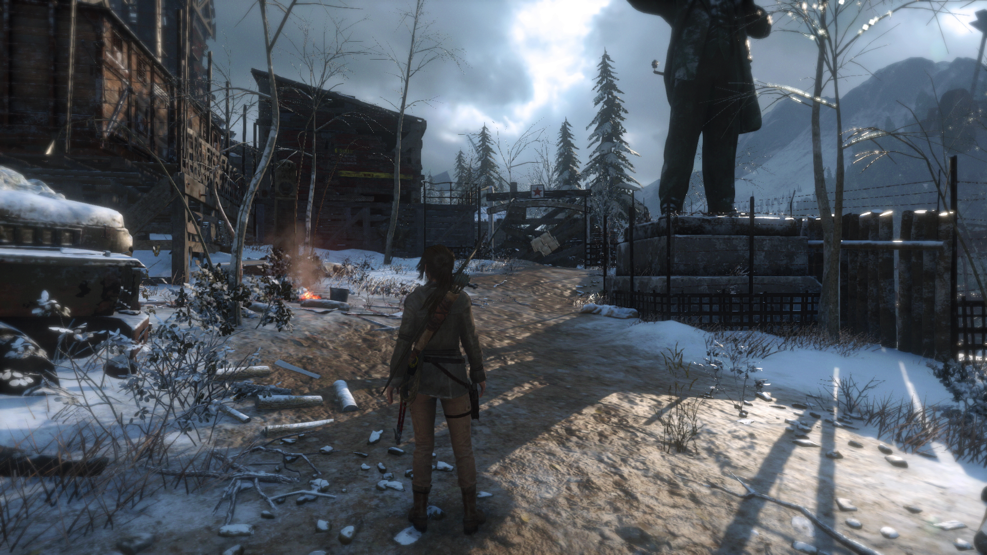 Face Off Rise Of The Tomb Raider On Ps4 Eurogamer Net