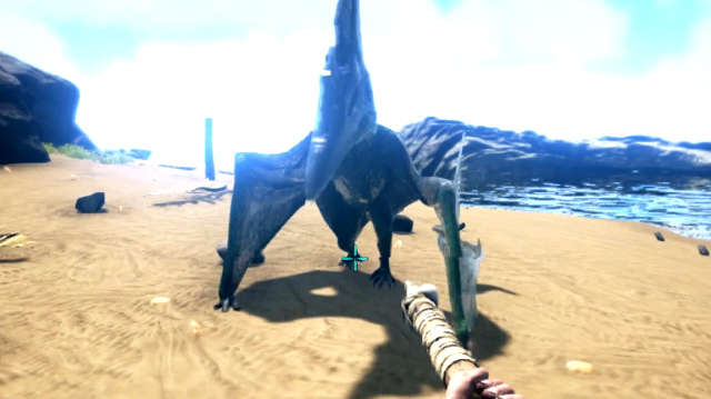 We Face Off Against Smug Pterodactyl in Ark Survival Evolved on Xbox One