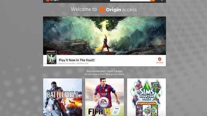 EA launches Origin Access for PC