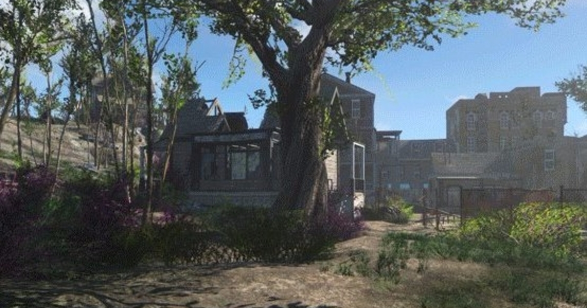 Seasons Mod Makes Fallout Look Like The Last Of Us Eurogamernet - Fallout game map of us