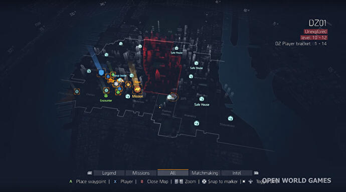 What The Division's world map does - and doesn't - include