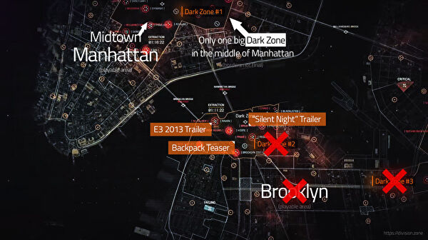 What The Divisions world map does  and doesnt  include