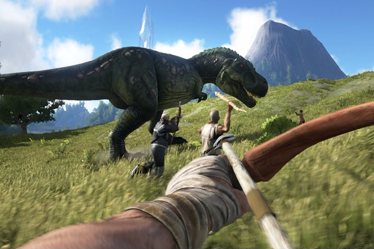 Ark: Survival Evolved is getting online and local split