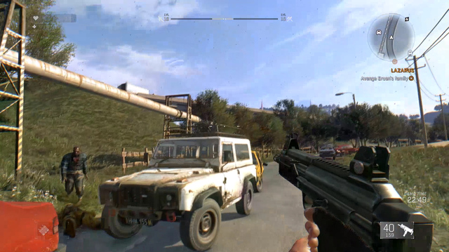 Dying Light The Following Gameplay Shows New SMG Weapon, Vengeance