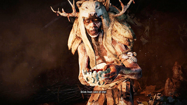 We Take Drugs, Turn Into Owl in Far Cry Primal Gameplay