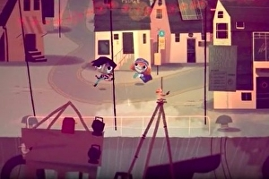 Tearaway director's RPG Knights and Bikes cycling to PS4
