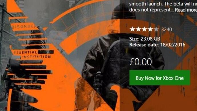 The Division open beta available for early download now