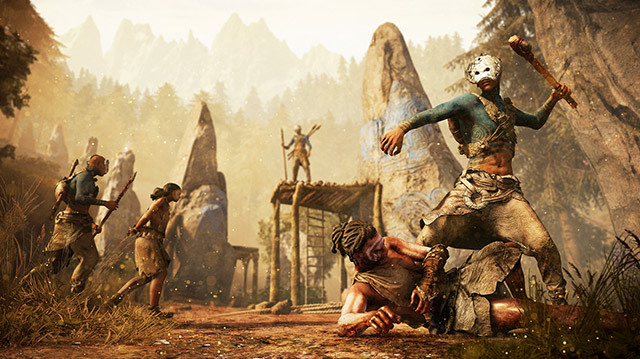 We Face Deadly New Tribe in Far Cry Primal Gameplay