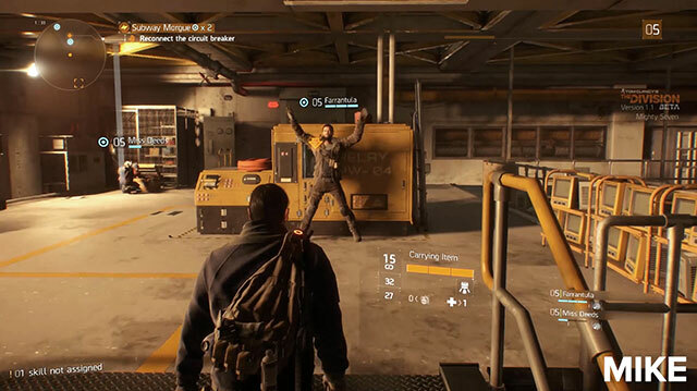 We Shoot, Loot Our Way Through Subway Morgue in The Division