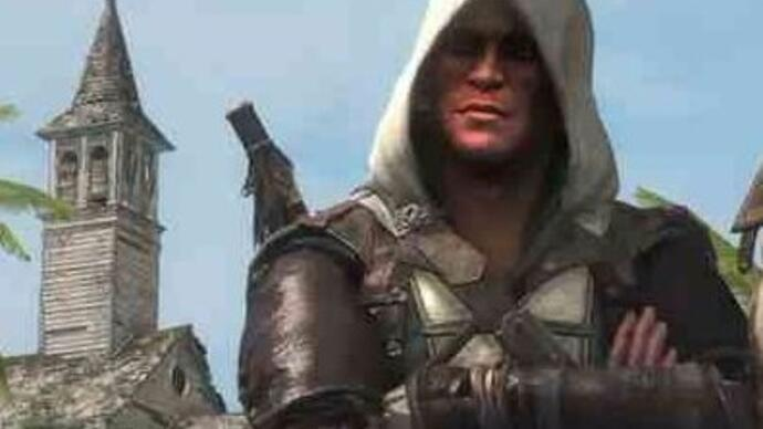 It looks like Naughty Dog used Assassin's Creed artwork for the new Uncharted 4trailer