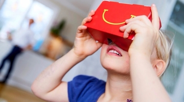 McDonald Sweden intros VR Happy Meals