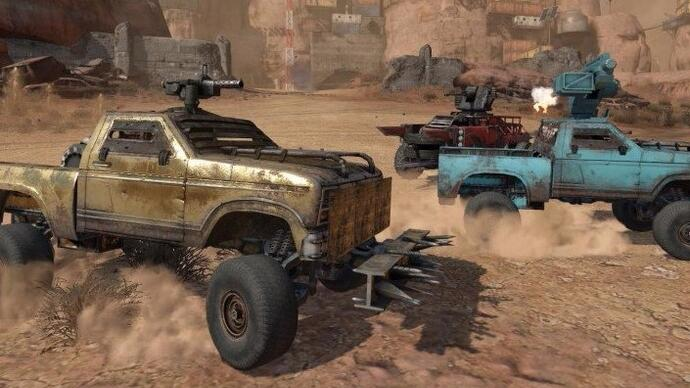 War Thunder dev's F2P car combat game Crossout enters closed beta
