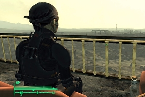Fallout 3 player completes the game and all DLC without healing