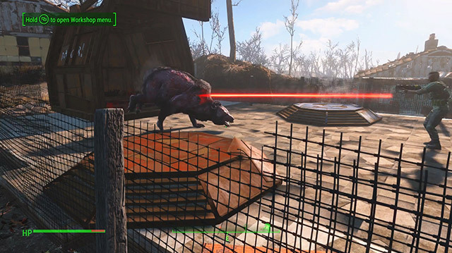 Fallout 4 DLC Wasteland Workshop Lets You Stage Bear Fights