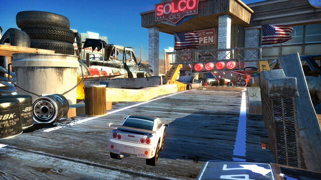 Table Top Racing World Tour is Micro Machines for the Modern Age