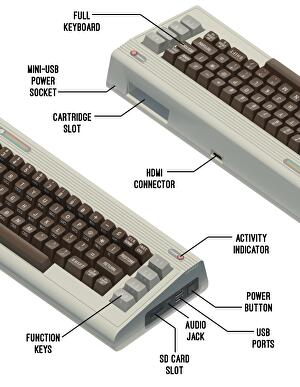 The 64 is an unofficial reimagining of the Commodore 64 • Eurogamer net