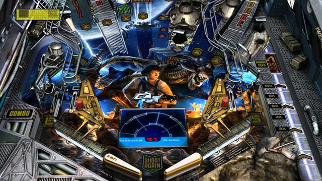 Behold Aliens vs Pinball in Pinball FX2 on Xbox One