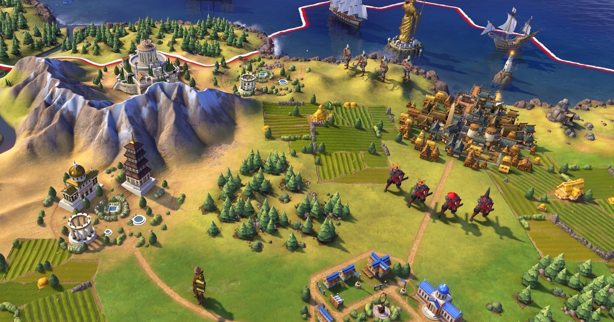... when playing as Gandhi in the upcoming Firaxis title Civilization 6