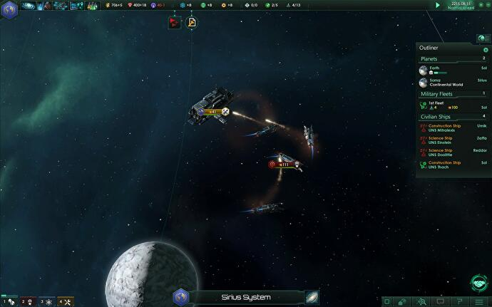 Exploring a tiny galaxy filled with jerks in Stellaris