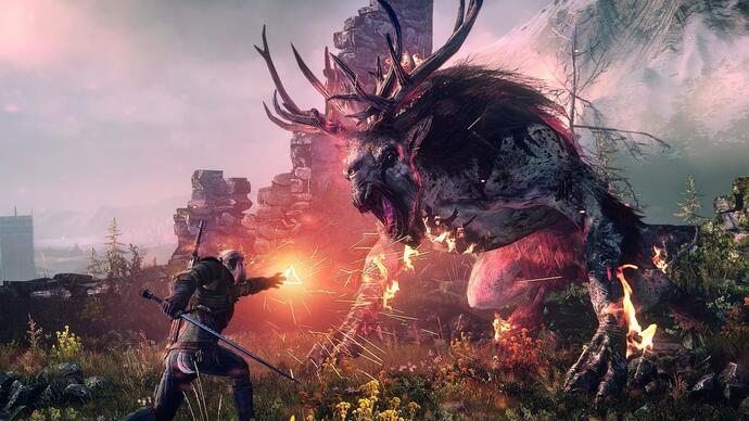 """The Witcher 3: Blood and Wine, nuovo trailer """"NewRegion"""""""
