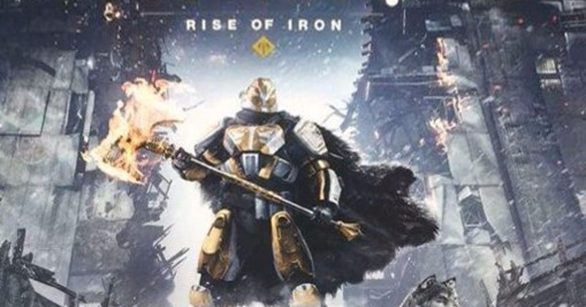 Destiny leak reveals next expansion rise of iron eurogamer net