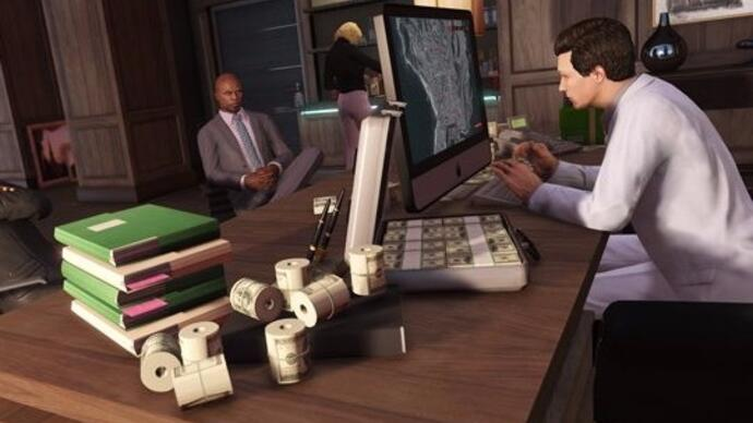 Here's the trailer for GTA Online: Further Adventures in Finance and Felony