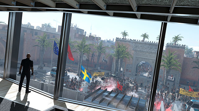 Hitman's Marrakesh Level is a City of Two Halves