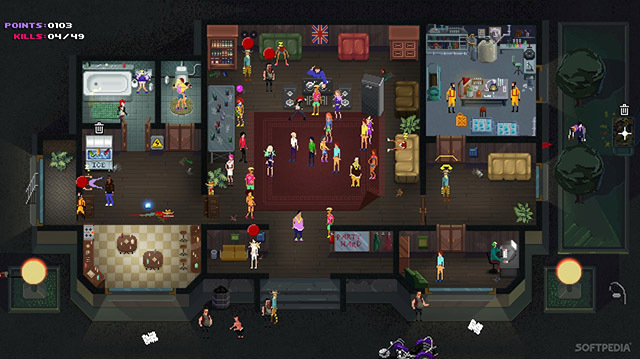 We Party Down in Murderous Strategy Game Party Hard on Xbox One