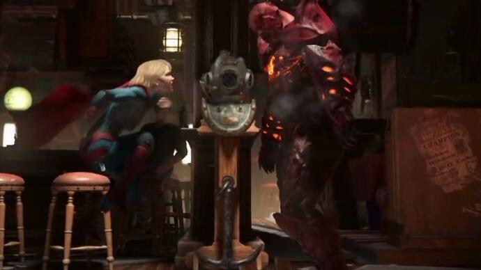 Injustice 2 reveals first gameplay footage