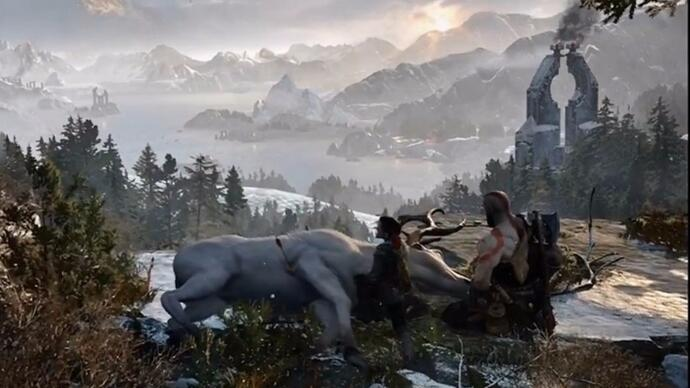 Sony announces God of War reboot