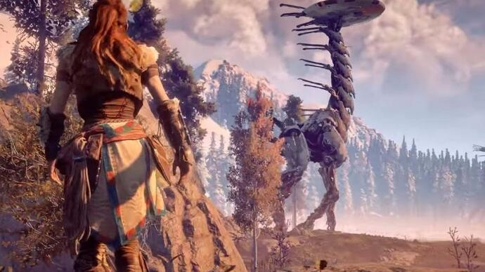 Nuevo vídeo con gameplay de Horizon: Zero Dawn
