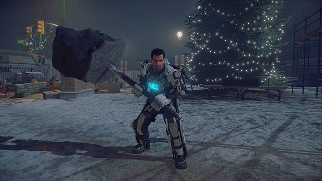 Dead Rising 4 on Xbox One is Festive Zombie Chaos