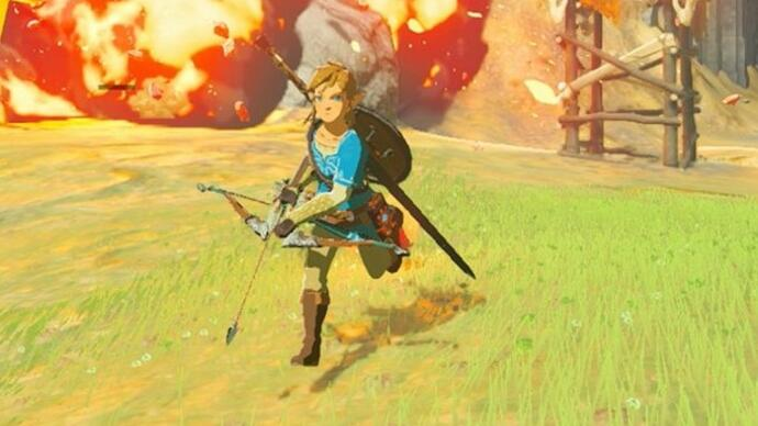 Hours of The Legend of Zelda: Breath of the Wild gameplay footage from E3