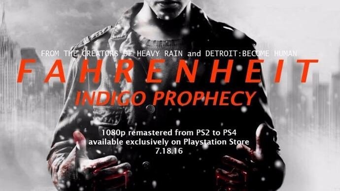Fahrenheit: Indigo Prophecy Remastered is coming to PS4 in July