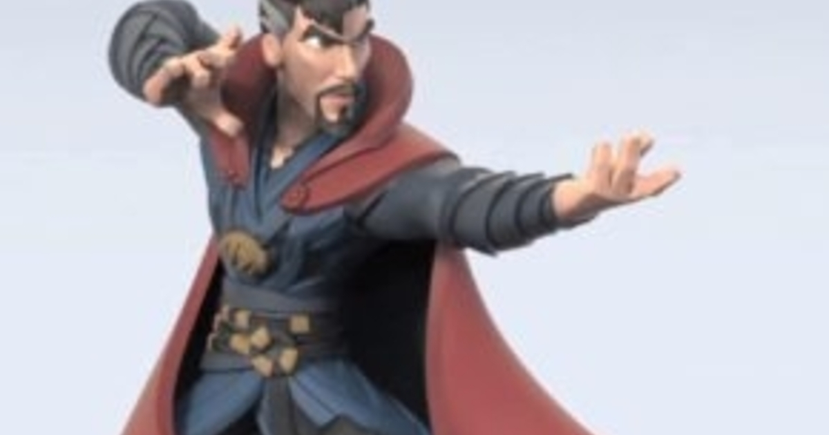 The Disney Infinity Doctor Strange Figure The World Will