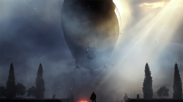 It's Us vs Airship in Battlefield 1 Gameplay