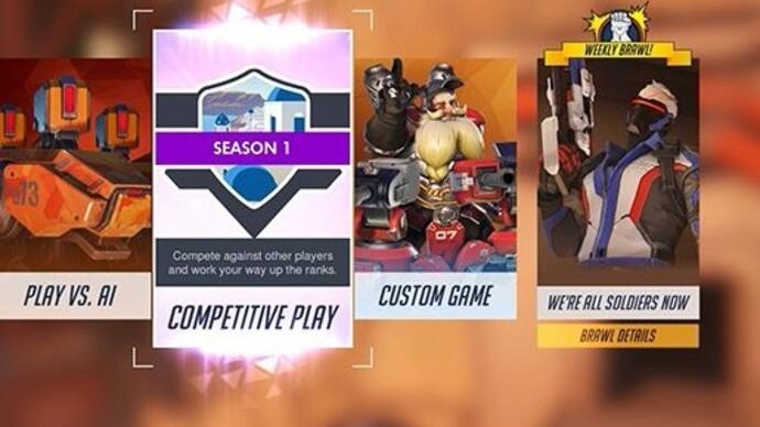 Overwatch Competitive Play - Alle details op een rij
