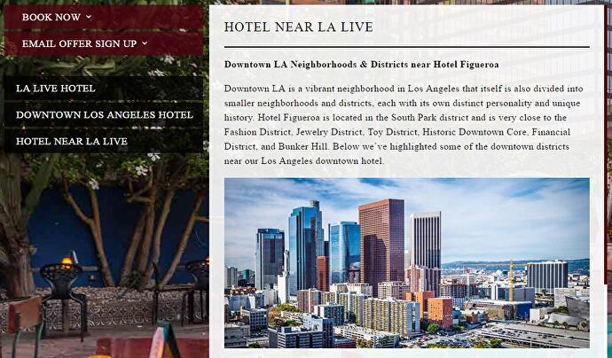 LA hotel can't tell the difference between GTA 5 screenshot