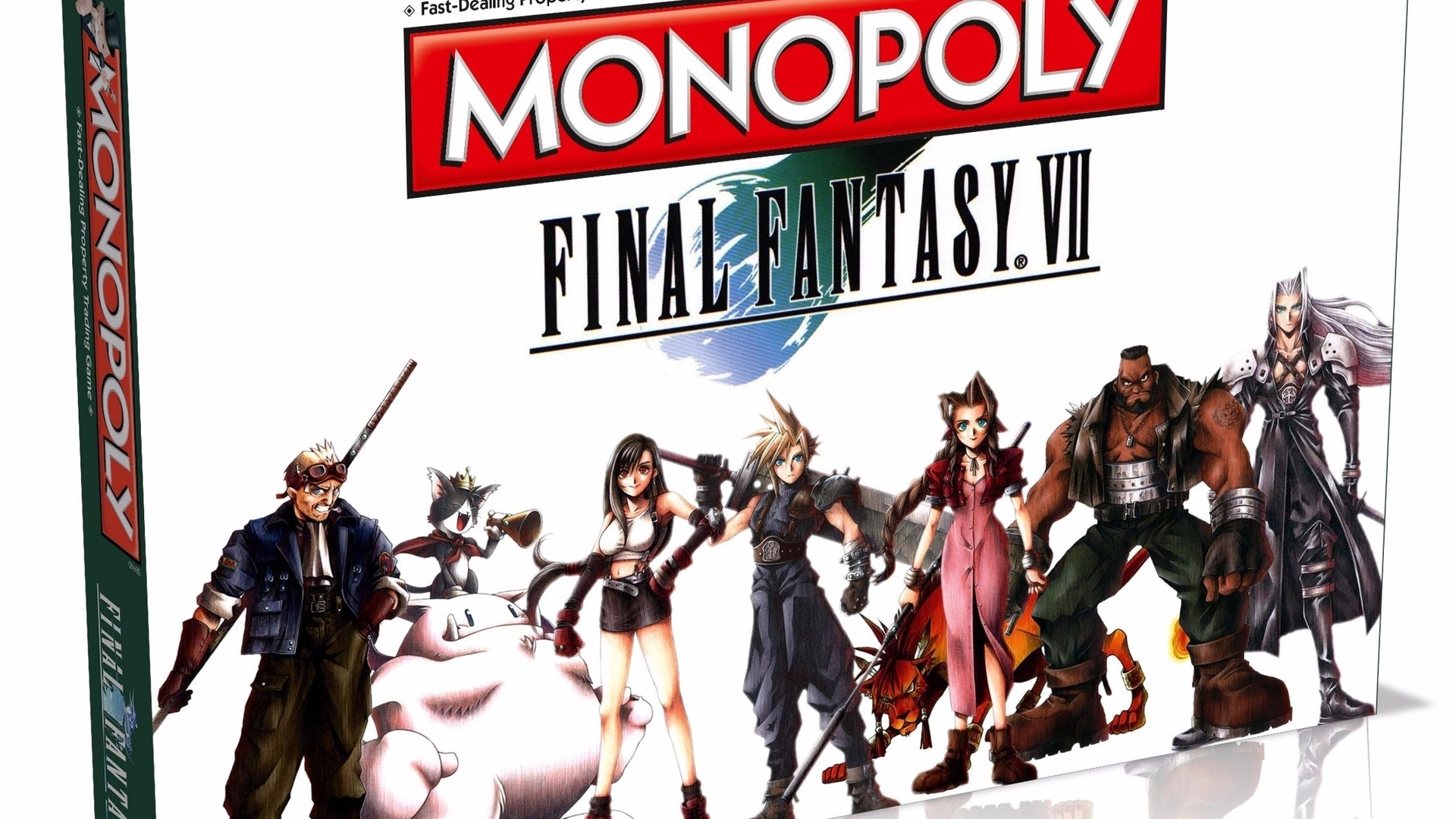 Final Fantasy 7 Monopoly is real and it's due out in 2017
