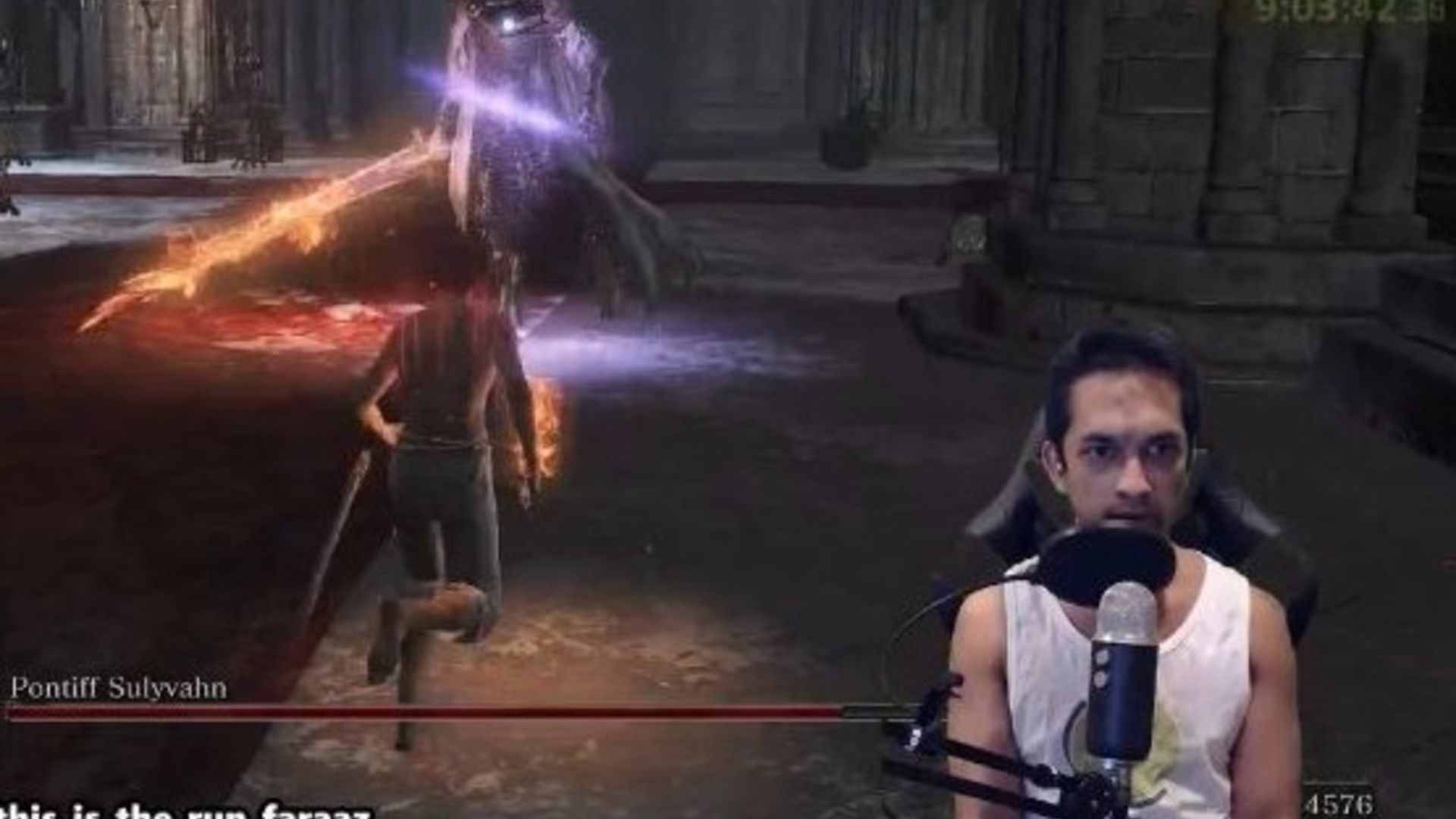 Watch someone complete Dark Souls 3 without getting hit