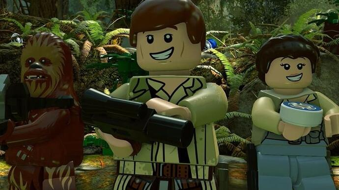 The sales are strong with Lego Star Wars: The Force Awakens