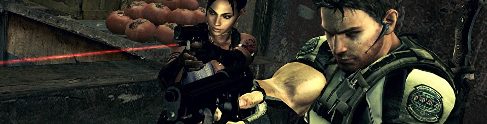 Things Fall Apart Looking Back At Resident Evil 5 Eurogamer Net