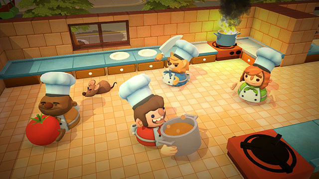 Overcooked Brings Couch Co-op Cooking to Xbox One