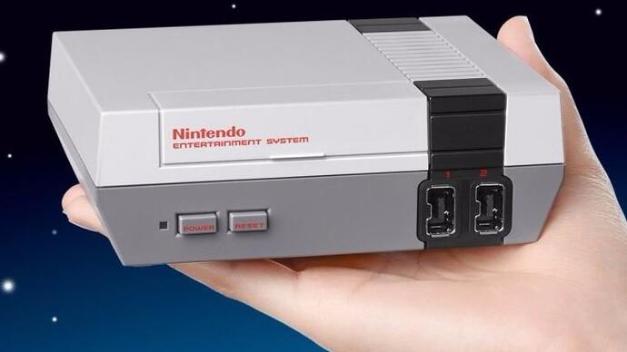 Nintendo announces palm-sized mini NES console